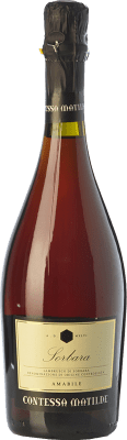 8,95 € Free Shipping | Red wine Cavicchioli Contessa Matilde Amabile D.O.C. Lambrusco di Sorbara Emilia-Romagna Italy Lambrusco di Sorbara, Lambrusco Salamino Bottle 75 cl