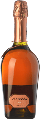 9,95 € Envío gratis | Espumoso rosado Ceci Otello Rosè I.G.T. Emilia Romagna Emilia-Romagna Italia Lambrusco Maestri, Pinot Negro Botella 75 cl