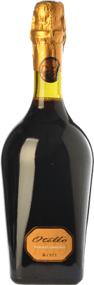 9,95 € Envío gratis | Vino tinto Ceci Otello Nero di Lambrusco I.G.T. Emilia Romagna Emilia-Romagna Italia Lambrusco Maestri Botella 75 cl