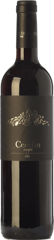 14,95 € Envío gratis | Vino tinto Cecilio Negre Joven D.O.Ca. Priorat Cataluña España Garnacha, Cabernet Sauvignon, Cariñena Botella 75 cl