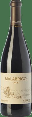 58,95 € Kostenloser Versand | Rotwein Cepa 21 Malabrigo Reserva D.O. Ribera del Duero Kastilien und León Spanien Tempranillo Flasche 75 cl