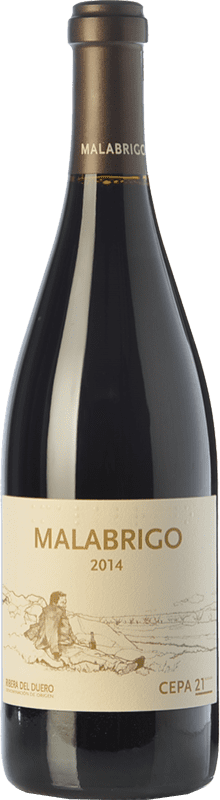 58,95 € Envío gratis   Vino tinto Cepa 21 Malabrigo Reserva D.O. Ribera del Duero Castilla y León España Tempranillo Botella 75 cl