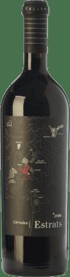 42,95 € Free Shipping | Red wine Cérvoles Estrats Crianza D.O. Costers del Segre Catalonia Spain Tempranillo, Grenache, Cabernet Sauvignon Bottle 75 cl