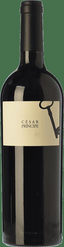 25,95 € Envío gratis | Vino tinto César Príncipe Crianza D.O. Cigales Castilla y León España Tempranillo Botella 75 cl