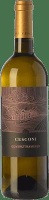 19,95 € Free Shipping | White wine Cesconi Selezione Et. Vigneto I.G.T. Vigneti delle Dolomiti Trentino Italy Gewürztraminer Bottle 75 cl