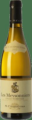 34,95 € Free Shipping | White wine Chapoutier Les Meysonniers Blanc A.O.C. Crozes-Hermitage Rhône France Marsanne Bottle 75 cl