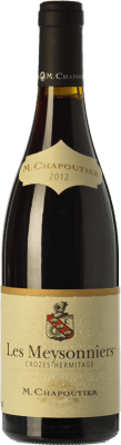29,95 € Free Shipping | Red wine Chapoutier Les Meysonniers Rouge Joven A.O.C. Crozes-Hermitage Rhône France Syrah Bottle 75 cl