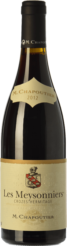 25,95 € Free Shipping | Red wine Chapoutier Les Meysonniers Rouge Joven A.O.C. Crozes-Hermitage Rhône France Syrah Bottle 75 cl