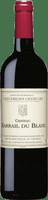 23,95 € Free Shipping | Red wine Château Barrail du Blanc Crianza A.O.C. Saint-Émilion Grand Cru Bordeaux France Merlot, Cabernet Franc Bottle 75 cl