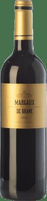29,95 € Free Shipping | Red wine Château Brane Cantenac Margaux de Brane Crianza A.O.C. Margaux Bordeaux France Merlot, Cabernet Sauvignon Bottle 75 cl
