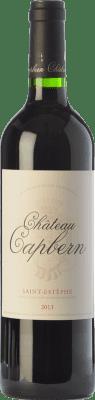 32,95 € Free Shipping | Red wine Château Capbern Gasqueton Crianza A.O.C. Saint-Estèphe Bordeaux France Merlot, Cabernet Sauvignon, Petit Verdot Bottle 75 cl
