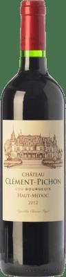 29,95 € Free Shipping | Red wine Château Clément-Pichon Crianza A.O.C. Haut-Médoc Bordeaux France Merlot, Cabernet Sauvignon, Cabernet Franc Bottle 75 cl