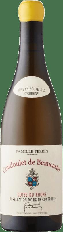 21,95 € Free Shipping   White wine Château Beaucastel Coudoulet Blanc A.O.C. Côtes du Rhône Rhône France Viognier, Marsanne, Bourboulenc, Clairette Blanche Bottle 75 cl