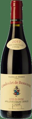 27,95 € Free Shipping | Red wine Château Beaucastel Coudoulet Rouge Joven A.O.C. Côtes du Rhône Rhône France Syrah, Grenache, Mourvèdre, Cinsault Bottle 75 cl