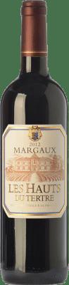 Red wine Château du Tertre Les Hauts du Tertre Crianza A.O.C. Margaux Bordeaux France Merlot, Cabernet Sauvignon, Cabernet Franc, Petit Verdot Bottle 75 cl
