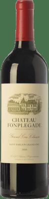 52,95 € Free Shipping | Red wine Château Fonplégade Crianza 2010 A.O.C. Saint-Émilion Grand Cru Bordeaux France Merlot, Cabernet Sauvignon, Cabernet Franc Bottle 75 cl