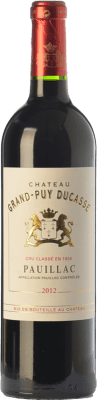 53,95 € Free Shipping | Red wine Château Grand-Puy Ducasse Crianza A.O.C. Pauillac Bordeaux France Merlot, Cabernet Sauvignon Bottle 75 cl