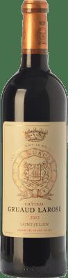 89,95 € Free Shipping | Red wine Château Gruaud Larose Crianza A.O.C. Saint-Julien Bordeaux France Merlot, Cabernet Sauvignon, Cabernet Franc, Petit Verdot Bottle 75 cl