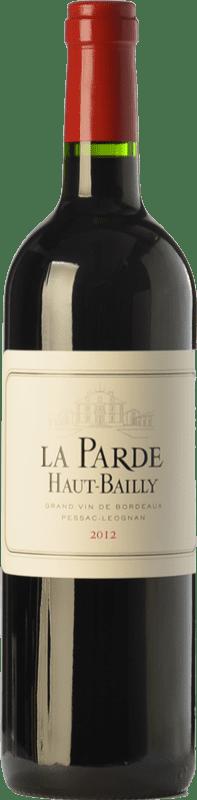 37,95 € Free Shipping | Red wine Château Haut-Bailly La Parde Crianza A.O.C. Pessac-Léognan Bordeaux France Merlot, Cabernet Sauvignon, Cabernet Franc Bottle 75 cl