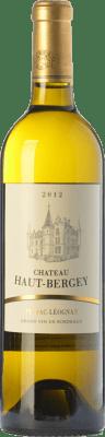 34,95 € Free Shipping | White wine Château Haut-Bergey Blanc Crianza A.O.C. Pessac-Léognan Bordeaux France Sémillon, Sauvignon Bottle 75 cl