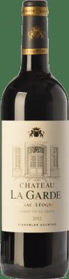 36,95 € Free Shipping | Red wine Château La Garde Crianza A.O.C. Pessac-Léognan Bordeaux France Merlot, Cabernet Sauvignon Bottle 75 cl