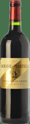 22,95 € Envío gratis | Vino tinto Château Latour-Martillac Lagrave-Martillac Crianza A.O.C. Pessac-Léognan Burdeos Francia Merlot, Cabernet Sauvignon Botella 75 cl
