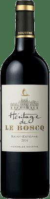 42,95 € Free Shipping | Red wine Château Le Boscq A.O.C. Saint-Estèphe Bordeaux France Merlot, Cabernet Sauvignon, Petit Verdot Bottle 75 cl
