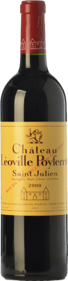 131,95 € Free Shipping | Red wine Château Léoville Poyferré Reserva A.O.C. Saint-Julien Bordeaux France Merlot, Cabernet Sauvignon, Cabernet Franc, Petit Verdot Bottle 75 cl