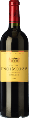 54,95 € Free Shipping | Red wine Château Lynch Moussas Crianza A.O.C. Pauillac Bordeaux France Merlot, Cabernet Sauvignon Bottle 75 cl