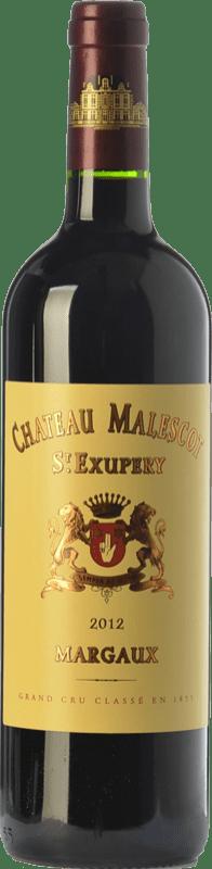 93,95 € Free Shipping   Red wine Château Malescot Saint-Exupéry Crianza A.O.C. Margaux Bordeaux France Merlot, Cabernet Sauvignon, Cabernet Franc, Petit Verdot Bottle 75 cl