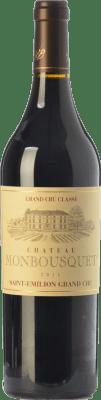 72,95 € Free Shipping | Red wine Château Monbousquet Reserva A.O.C. Saint-Émilion Grand Cru Bordeaux France Merlot, Cabernet Sauvignon, Cabernet Franc Bottle 75 cl