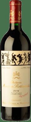 667,95 € Free Shipping | Red wine Château Mouton-Rothschild Reserva A.O.C. Pauillac Bordeaux France Merlot, Cabernet Sauvignon, Cabernet Franc Bottle 75 cl