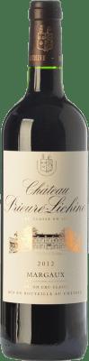 47,95 € Envío gratis | Vino tinto Château Prieuré-Lichine Crianza A.O.C. Margaux Burdeos Francia Merlot, Cabernet Sauvignon, Petit Verdot Botella 75 cl