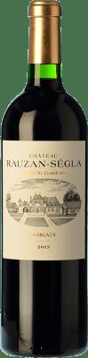 175,95 € Free Shipping | Red wine Château Rauzan Ségla Crianza A.O.C. Margaux Bordeaux France Merlot, Cabernet Sauvignon, Petit Verdot Bottle 75 cl
