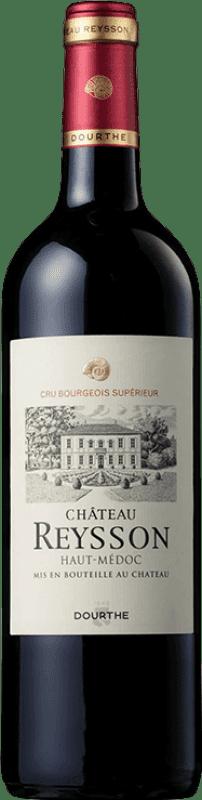 14,95 € Envoi gratuit | Vin rouge Château Reysson Crianza A.O.C. Haut-Médoc Bordeaux France Merlot, Cabernet Franc Bouteille 75 cl
