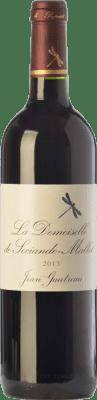 29,95 € Free Shipping | Red wine Château Sociando-Mallet La Demoiselle Crianza A.O.C. Haut-Médoc Bordeaux France Merlot, Cabernet Sauvignon Bottle 75 cl