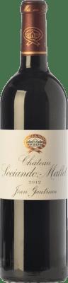 46,95 € Free Shipping | Red wine Château Sociando-Mallet Crianza A.O.C. Haut-Médoc Bordeaux France Merlot, Cabernet Sauvignon, Cabernet Franc Bottle 75 cl