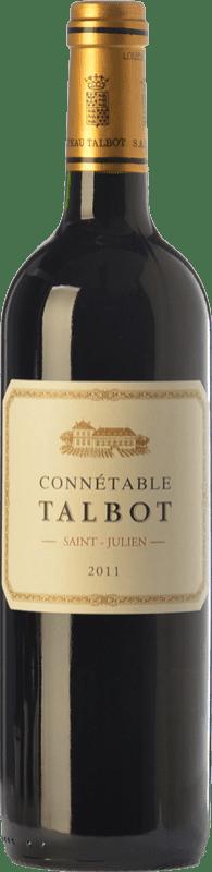 35,95 € Free Shipping | Red wine Château Talbot Connétable Crianza A.O.C. Saint-Julien Bordeaux France Merlot, Cabernet Sauvignon, Petit Verdot Bottle 75 cl