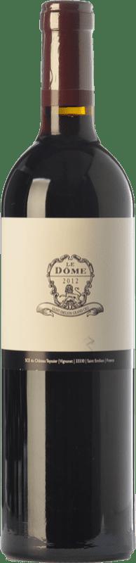 Vin rouge Château Teyssier Le Dôme Crianza A.O.C. Saint-Émilion Grand Cru Bordeaux France Merlot, Cabernet Franc Bouteille 75 cl
