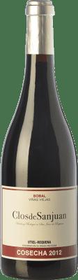 17,95 € Envío gratis | Vino tinto Valsangiacomo Clos de Sanjuan Crianza D.O. Utiel-Requena Comunidad Valenciana España Bobal Botella 75 cl