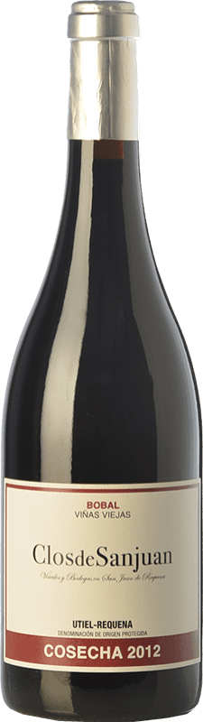 17,95 € Free Shipping | Red wine Valsangiacomo Clos de Sanjuan Crianza D.O. Utiel-Requena Valencian Community Spain Bobal Bottle 75 cl