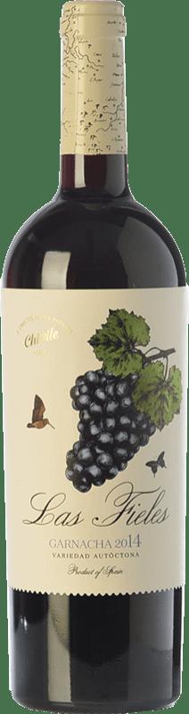 11,95 € Envío gratis | Vino tinto Chivite Las Fieles Joven D.O. Navarra Navarra España Garnacha Botella 75 cl