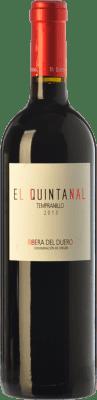 7,95 € Free Shipping | Red wine Cillar de Silos El Quintanal Joven D.O. Ribera del Duero Castilla y León Spain Tempranillo Bottle 75 cl
