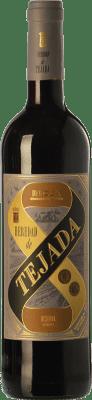 6,95 € Envoi gratuit | Vin rouge Classica Heredad de Tejada Reserva D.O.Ca. Rioja La Rioja Espagne Tempranillo Bouteille 75 cl