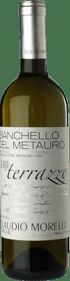 14,95 € Free Shipping | White wine Claudio Morelli Vigna delle Terrazze I.G.T. Bianchello del Metauro Marche Italy Biancame Bottle 75 cl