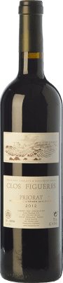 48,95 € Free Shipping | Red wine Clos Figueras Clos Figueres Crianza D.O.Ca. Priorat Catalonia Spain Syrah, Cabernet Sauvignon, Monastrell, Carignan Bottle 75 cl