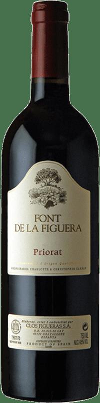25,95 € Free Shipping | Red wine Clos Figueras Font de la Figuera Crianza D.O.Ca. Priorat Catalonia Spain Syrah, Grenache, Cabernet Sauvignon, Carignan Bottle 75 cl