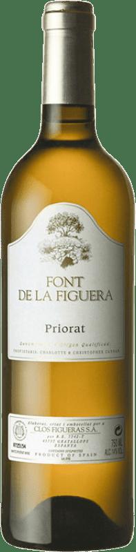 23,95 € Free Shipping | White wine Clos Figueras Font de la Figuera Blanc Crianza D.O.Ca. Priorat Catalonia Spain Grenache White, Viognier, Chenin White Bottle 75 cl