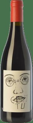 39,95 € Envío gratis | Vino tinto Clos Mogador Com Tu Crianza D.O. Montsant Cataluña España Garnacha Botella 75 cl