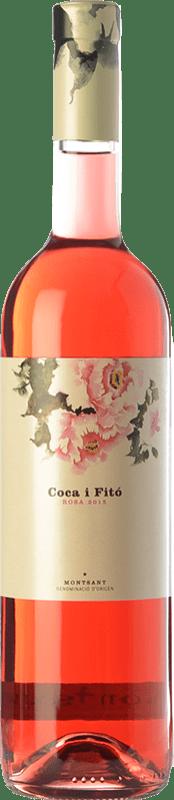 16,95 € Envío gratis | Vino rosado Coca i Fitó Rosa D.O. Montsant Cataluña España Syrah Botella 75 cl